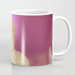 Statuette of Gautama Buddha in light marble in a prayer position Coffee Mug