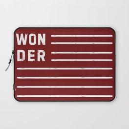 WONDER STRIPES (red) Laptop Sleeve