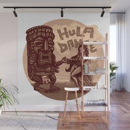 hula dance Wall Mural