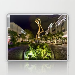Nightlife at The District Laptop & iPad Skin