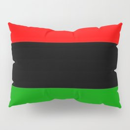 Red Black and Green Pillow Sham