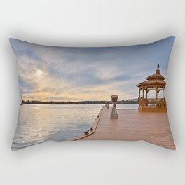 Alexandria Bay Sunset Rectangular Pillow
