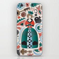 Queen of Spades iPhone & iPod Skin
