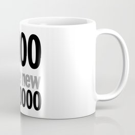 the nu black… urban geek chic Coffee Mug