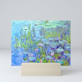 Water Lilies monet : Nympheas Mini Art Print