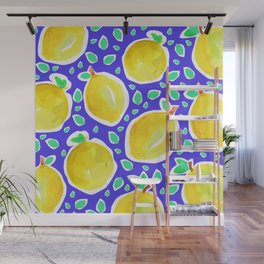 Lemon Crush 3 Wall Mural