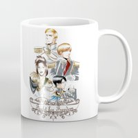 attack on titan Mugs featuring OriSor Shingeki No Kyojin Royal Fanart  Attack on Titan by Mistiqarts by Mistiqarts