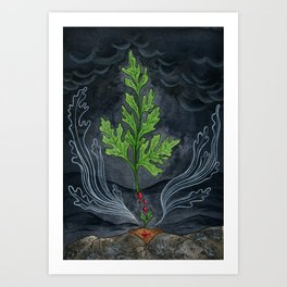 Do Plants Have Ghosts? Art Print