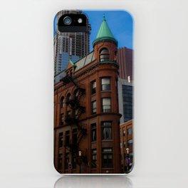 Gooderham Building in Toronto iPhone Case