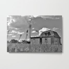 Homestead Shack Metal Print