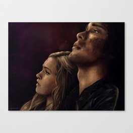 "Bellarke painting - ""I need you"" Canvas Print"