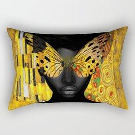 lady butterfly Rectangular Pillow