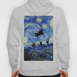 Falling Into Wonderland Starry Night Hoody