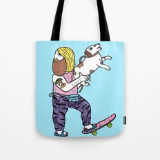 On the topic of Rad Dad Dog owners Tote Bag