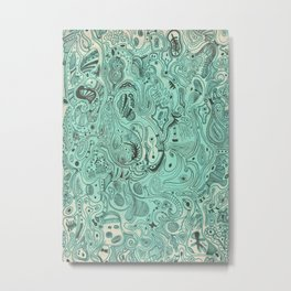 Histological section of my inner world (#4) Metal Print