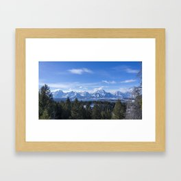 View from Signal Mountain Framed Art Print