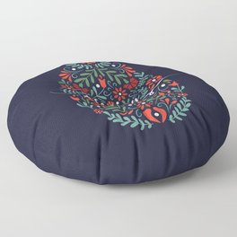 Happy Easter Floor Pillow