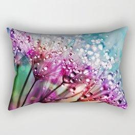 Dewdrops & Rainbows Rectangular Pillow