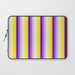Complementary Color Harmony...yellow purple Laptop Sleeve