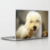 moriarty Laptop & iPad Skins featuring Moriarty & The Bully Stick by Mitch Tuckness
