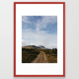 Hiking in Rondane, Norway Framed Art Print