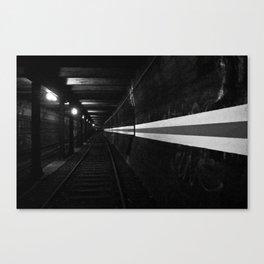 Urbex - Berlin Underground Canvas Print