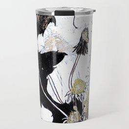 Gold Dandelions Travel Mug