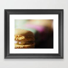 Macaron V2 Framed Art Print