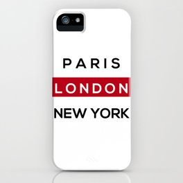 London Red iPhone Case