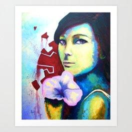 Kibou Art Print