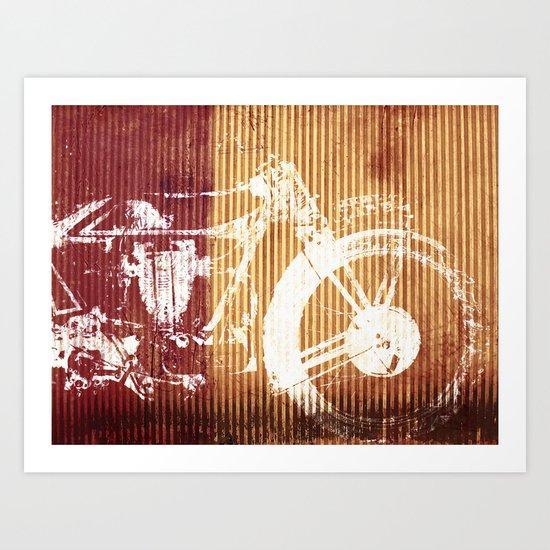 Corrugated Speed Art Print