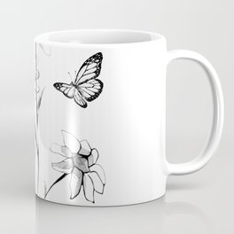 Flowers and butterflies 2 Coffee Mug