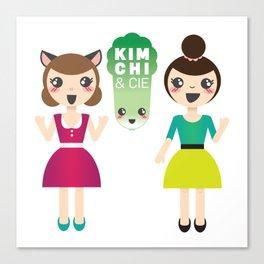 Alexandra et Kim! Canvas Print