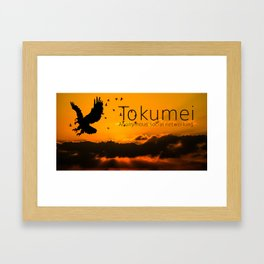 Tokumei Birds Framed Art Print