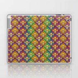 Harlequin Fleur di Lis Diamonds Laptop & iPad Skin