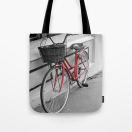 Rosy Red Riding Tote Bag