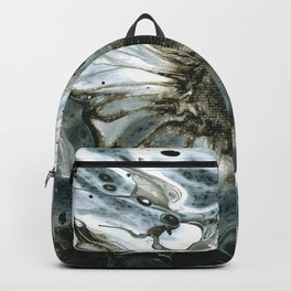 Black and White Lei Backpack