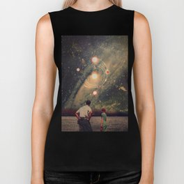 Light Explosions In Our Sky Biker Tank