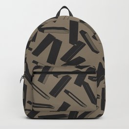 3D X Pattern Backpack
