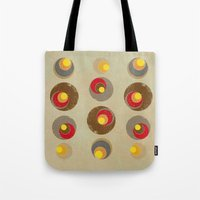 blankets Tote Bags featuring Tendency by Metron