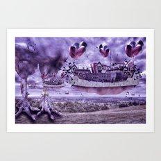 Its an odd world Art Print
