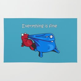 Everything is fine Rug