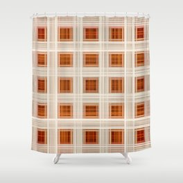 Ambient 11 Squares Shower Curtain
