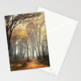 Into the Golden Stationery Cards