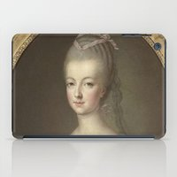 marie antoinette iPad Cases featuring Marie Antoinette by Mary