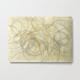 Loops 1 Metal Print