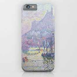 View of the Port of Marseilles iPhone Case