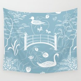 Swan Wall Tapestry