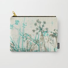 Abstract Botanical Carry-All Pouch
