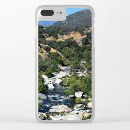 California Landscape Clear iPhone Case
